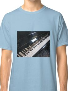 Flute on Piano Keyboard Classic T-Shirt