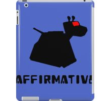 K-9 Affirmative iPad Case/Skin