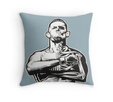 Kill or be killed Throw Pillow