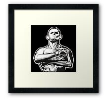 Kill or be killed Framed Print