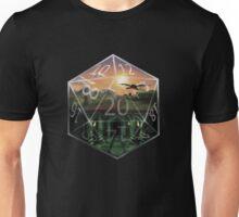 D&D roll 20 Unisex T-Shirt