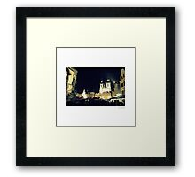 Beauty of Old Town Square Framed Print