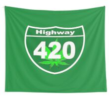 Highway 420 Wall Tapestry