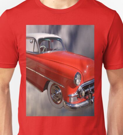 Red Classic Car From The 50s 60s Unisex T-Shirt