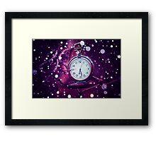 Purple Fantasy Watch Framed Print