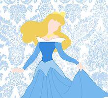 Aurora- Blue Dress by ChandlerLasch