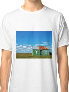 Hut in middle of nowhere Classic T-Shirt
