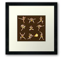 Dhalsim - Street Fighter II T-shirt Framed Print
