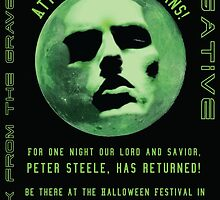 Peter Steele- Back From the Grave by darkmoondelight
