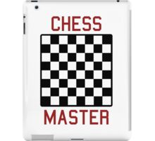 Chess master iPad Case/Skin