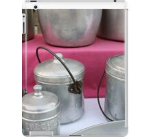 old pots and pans in the kitchen iPad Case/Skin