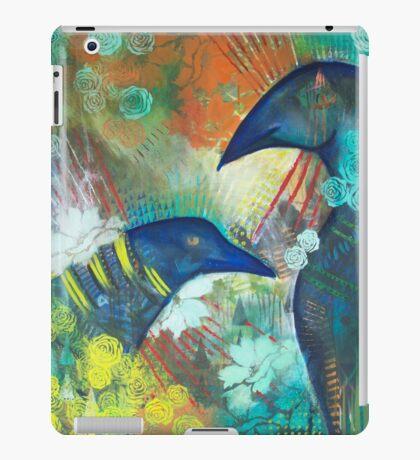 Ravens in the Garden iPad Case/Skin
