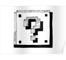 Mario Block Poster