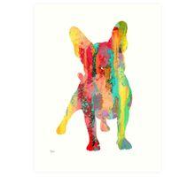 French Bulldog 9 Art Print