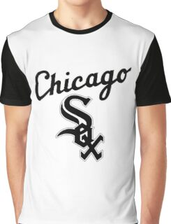 chicago white Graphic T-Shirt