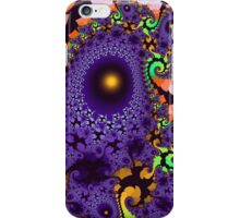 Colourful whimsical shapes and patterns iPhone Case/Skin