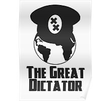 The Great Dictator Minimal Poster