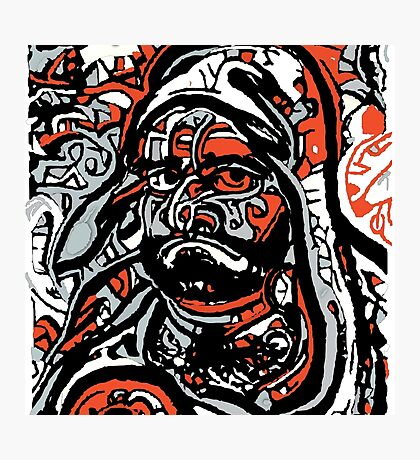 DARUMA DEEP NEURAL Photographic Print