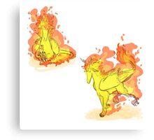 Fire Bird 1 Canvas Print