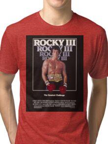 Rocky III Tri-blend T-Shirt