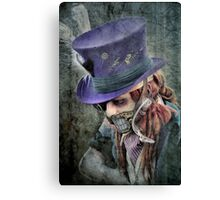 The Hatter Is Quite Mad Canvas Print