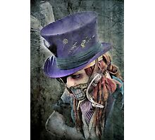 The Hatter Is Quite Mad Photographic Print