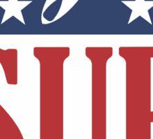 SUP NFL Sticker