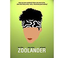 Minimalist Posters: Zoolander Photographic Print