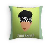 Minimalist Posters: Zoolander Throw Pillow