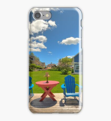 Rosewood Cottages - Hubbards iPhone Case/Skin