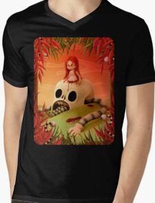 Abuse Mens V-Neck T-Shirt