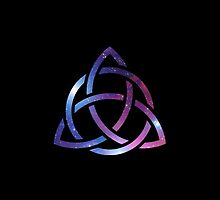 Celtic Trinity Space Knot by jayebz