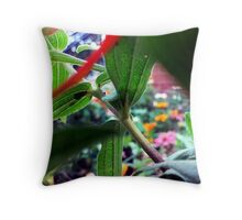 Plant Stalk Throw Pillow