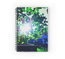 Nature in the Suburbs Spiral Notebook
