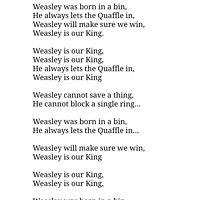 Weasley is our King by prettymuch