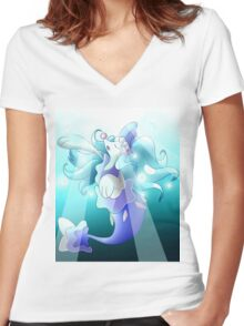 Primarina Women's Fitted V-Neck T-Shirt