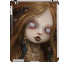 The face of all your fears iPad Case/Skin