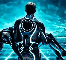 Tron Legacy multi monitor - Artwork by digipaint