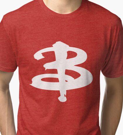 Buffy white Tri-blend T-Shirt