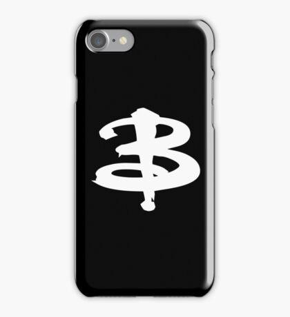 Buffy white iPhone Case/Skin