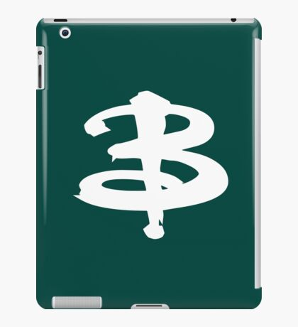 Buffy white iPad Case/Skin
