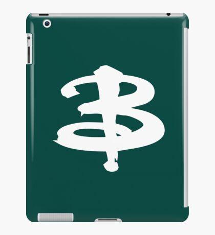 Buffy white iPad Case/Skin
