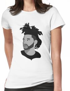The weeknd 1 Womens Fitted T-Shirt
