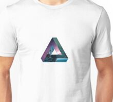 Impossible Triangle Sea/Galaxy  Unisex T-Shirt