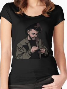 The weeknd 5 Women's Fitted Scoop T-Shirt