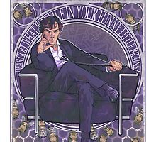 Sherlock Art Nouveau by noisymouse