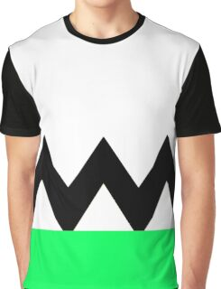 Power Rangers Lost Galaxy Green Chest Graphic T-Shirt