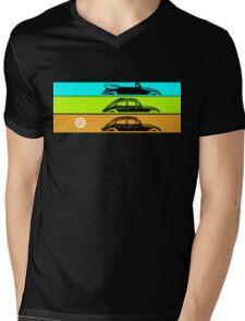 VW Beachy Mens V-Neck T-Shirt