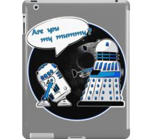 Are you my mummy? - Second version iPad Case/Skin