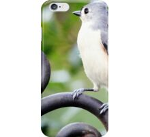 Toughie Tufted Tit Mouse iPhone Case/Skin